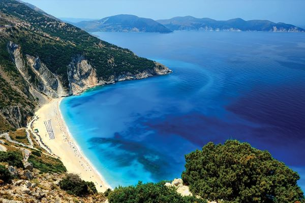 Kefalonia Holidays, Myrtos Beach, Greece