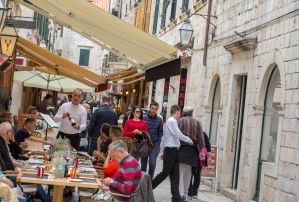 Dining out in Dubrovnik