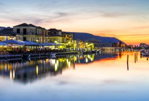 A night out in Lefkada Town